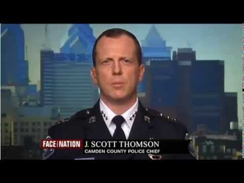 Face the Nation Camden Police Chief Scott Thomson