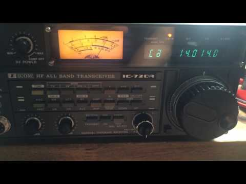 Icom IC-720A retrofitted with 250 Hz CW Filter