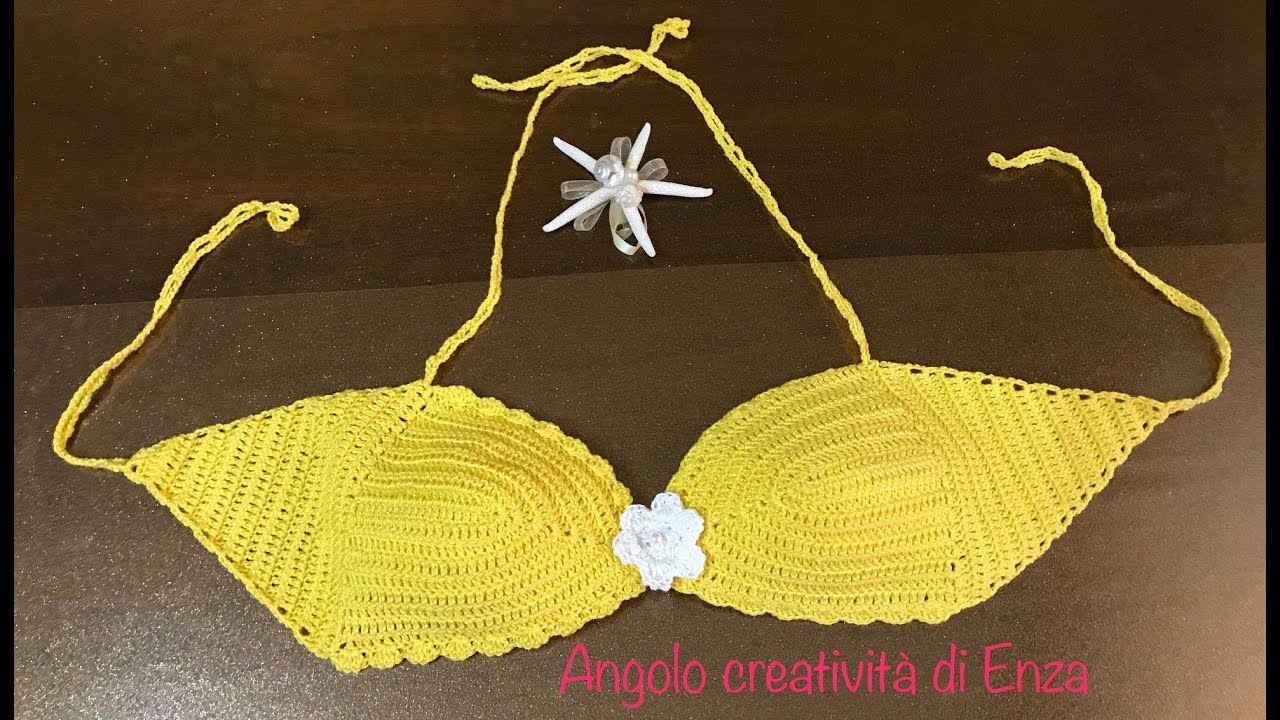 Top Bikini Alluncinetto Faciletop Easy Crochet Bikini Ganchillo