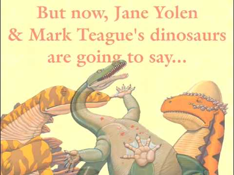 Jane Yolen & Mark Teague  HOW DO DINOSAURS SAY I LOVE YOU?