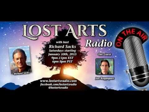 Lost Arts Radio Show #7 (2/21/15) - Special Guests Jon Rappoport & Rima E. Laibow, M.D.