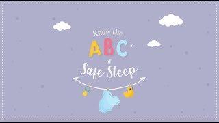The ABCs of Infant Safe Sleep (English)