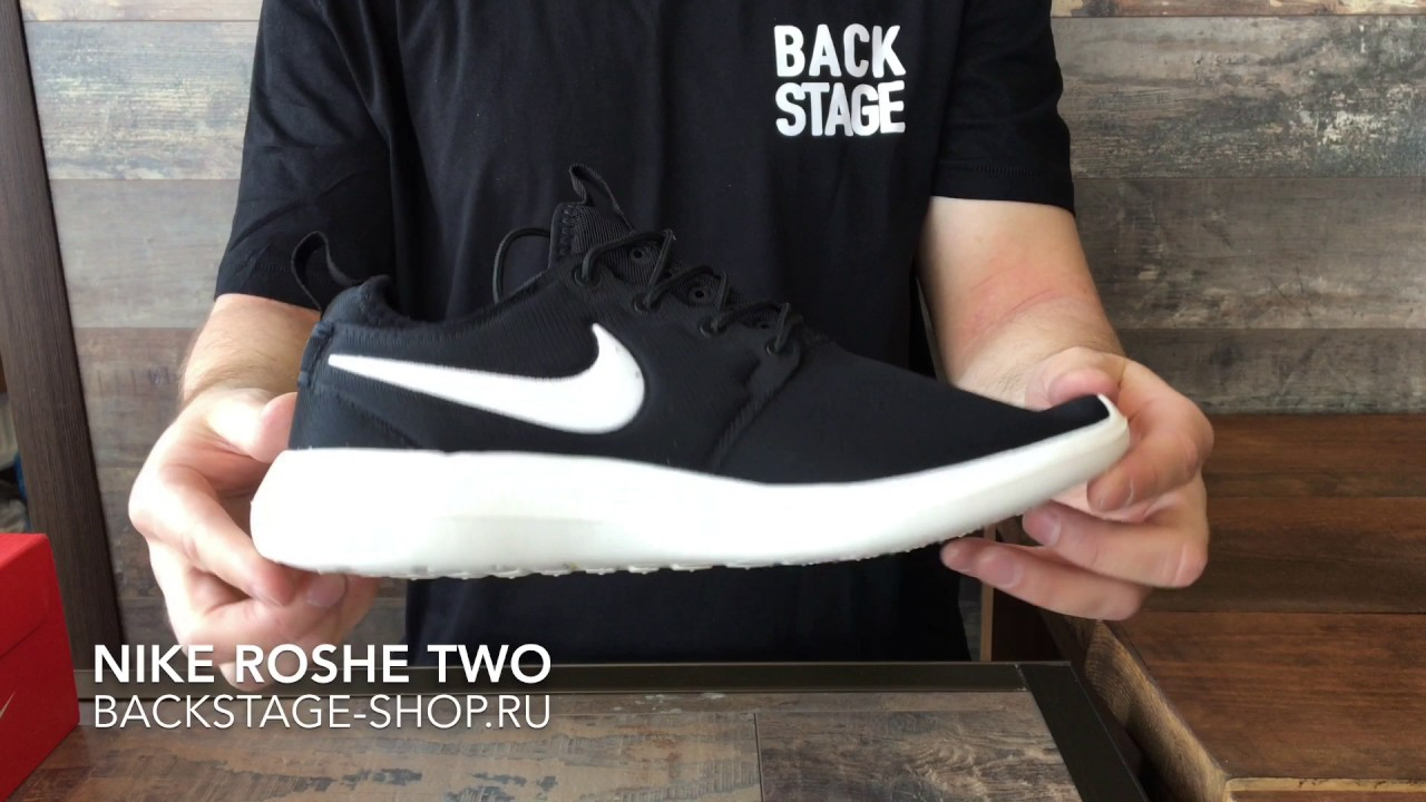 size 40 d5e46 04feb Nike ROSHE Two  Black White
