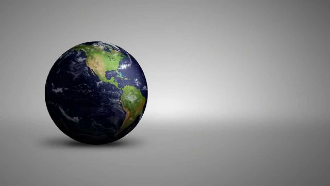 3d Earth Hd Motion Graphics Background Loop Youtube