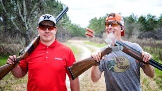 Shotgun Trick Shots: Winchester Model 101 Edition