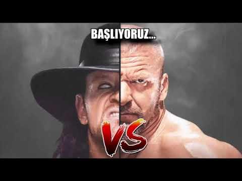 @Onat'ın Ringi ile The Undertaker vs Triple H   GEL VS 2.21.11 - 10. Yıl Özel Canlı Yayın