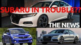 видео Новости Subaru (Субару)