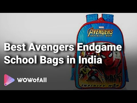 best-avengers-endgame-school-bags-in-india:-complete-list-with-features-&-details---2019