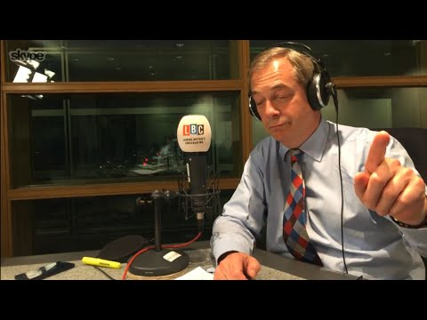 The Nigel Farage Show: Is Donald Trump becoming an international statesman? LBC - 18th April 2018