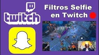 Como transmitir en Twitch con los filtros de Snapchat (Snap Camera)