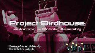 Project Birdhouse: Autonomous Robotic Assembly : Robot with a Nailgun!