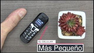El celular mas pequeño del mundo y viene con efectos de voz!!