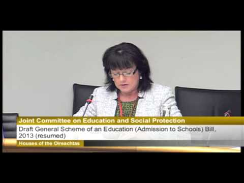 Jane Donnelly tells Dail that Irish schools breach human rights