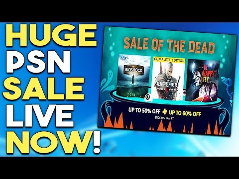HUGE PSN Store Sale LIVE NOW! Get ANOTHER FREE PS+ Game NOW!