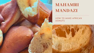 Sweet Fried Bread Mandazi Mahamri From East Africa African Donuts Instructional Video Youtube