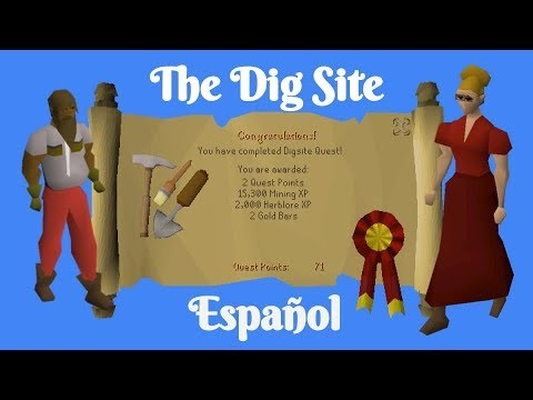 [OSRS] The Dig Site Quest (Español)