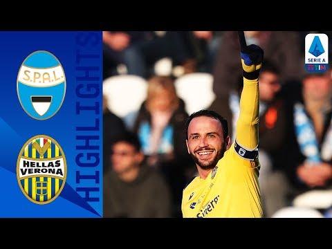 SPAL 0-2 Hellas Verona |  Pazzini and Stępiński score agains 10 man SPAL | Serie A TIM