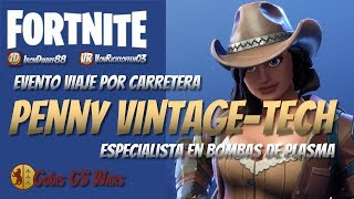 CONSTRUCTEUR PENNY VINTAGE-TECH ? FORTNITE Heroes Save the World ? Patch 5.0