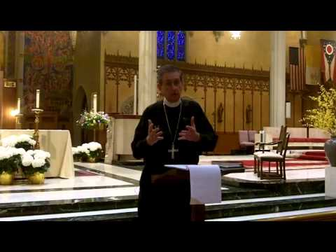 Bishop's Lunchtime Lecture on the Sacrament of Penance (Part 2) - May 14, 2014