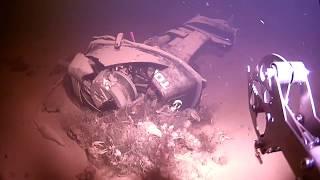 Поиск и подъем лодочного двигателя с помощью ТПА \Моби Дик\