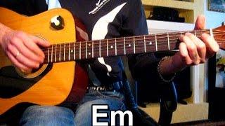 Серега - Возле Дома Твоего - Тональность ( Еm ) Как играть на гитаре песню