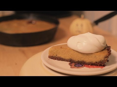 Silently Cooking - Butternut Squash Pie