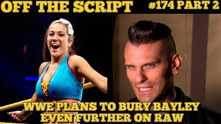 Bayley expected to start romantic angle with corey graves? - wwe off the script #174 part 2