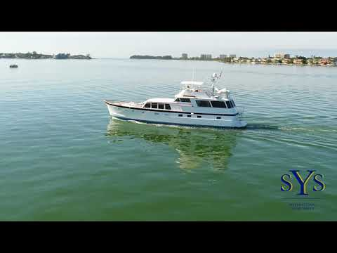 64' Burger Flush Deck Motor Yacht from SYS Yacht Sales -