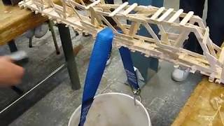 The Popsicle Sticks Bridge Building Competition