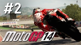 MotoGP 14 Walkthrough Part 2 - Career Mode QATAR - PS4