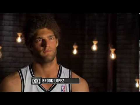 Brook Lopez at the Gym Is Amazed by Kevin Garnett, Paul Pierce & other Nets