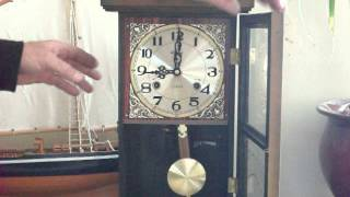 Vintage Alaron Chime Mantel/wall Clock