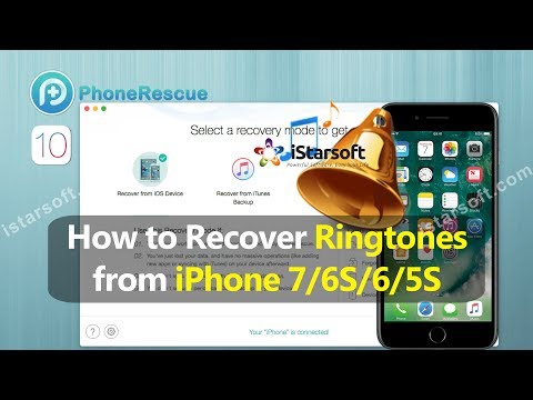 How to Recover Ringtones from iPhone 7/6S/6/5S with iOS 10