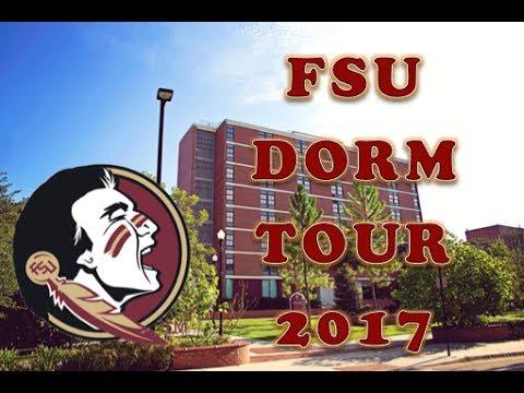 FSU COLLEGE DORM TOUR: Salley Hall 2017 - YouTube