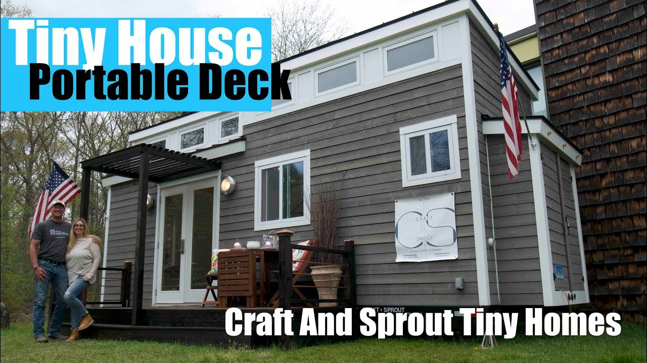 A $200 Tiny house Portable DECK- Easy and Inexpensive ... on Cheap Outdoor Living id=23616