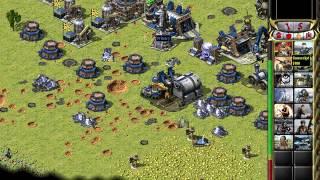 C&C Red Alert 2 Megapack Challenge 1v7 - Big Citys - Russia - Random