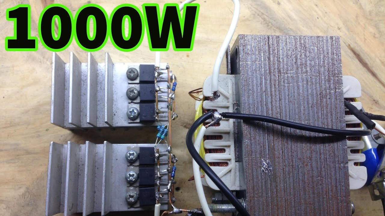 1000w Simple Inverter Powerfull Youtube