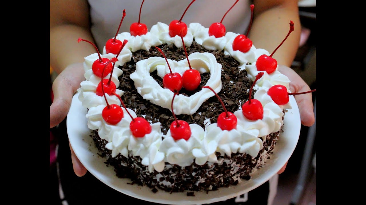 Resep Kue black forest - YouTube
