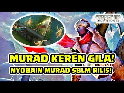 MURAD! Nyobain Hero Paling Keren di AOV! EMEJING! - Arena of Valor AOV