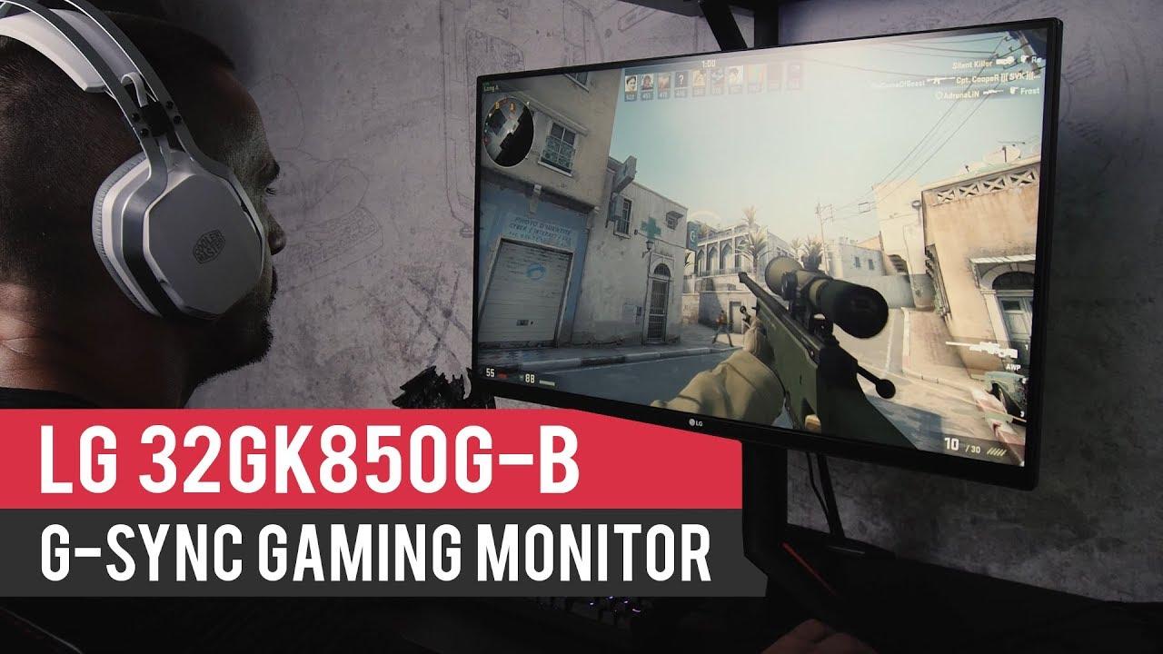 LG 32GK850G-B G-Sync Gaming monitor