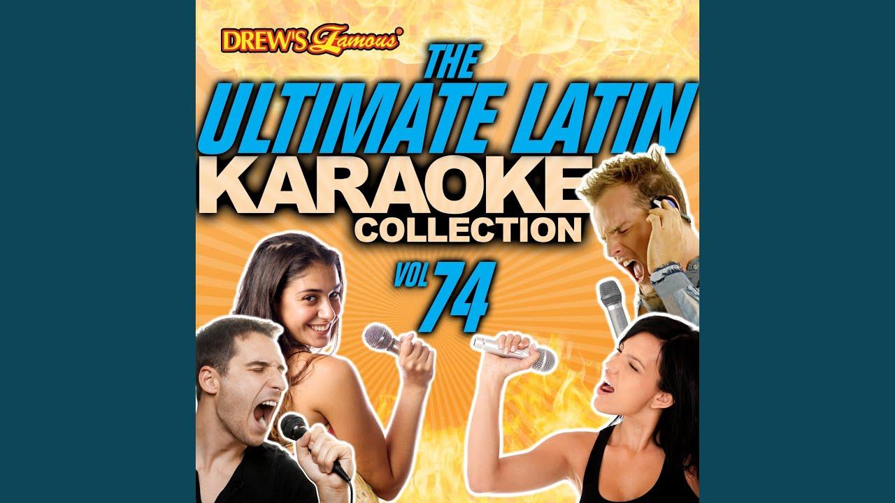 Esta Noche Me Emborracho Karaoke Version Youtube