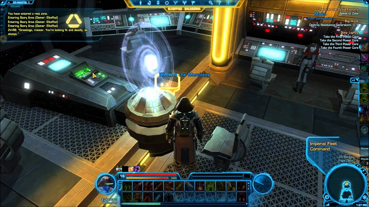 swtor how to get ship