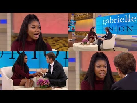 "Gabrielle Union TELLS ALL about having 9 Miscarriages and why she has been ""LOOKING Preggers""!"