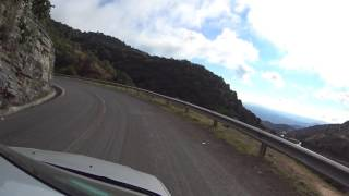 Driving the treacherous Mexican mountains