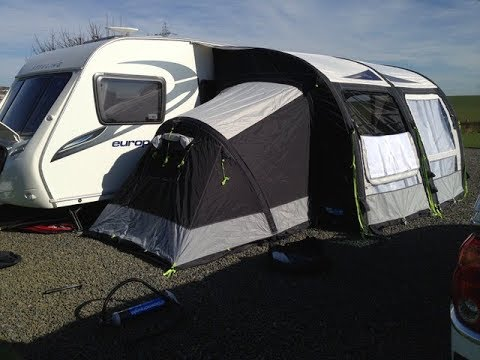 Our Kampa Rally Air Pro 330 Caravan Awning Accessories