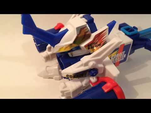 Battle B-Daman Cobalt Blaster Unboxing and Review!