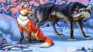 Лиса и Волк - Анимационная Сказка Для Детей На Ночь ♦ #сказка