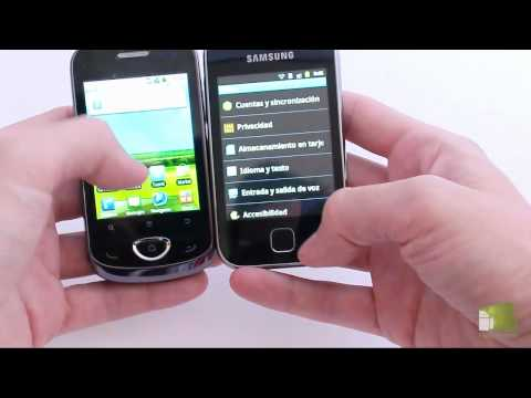 Comparativa Samsung Galaxy Y vs ZTE Racer II | faqsandroid.com