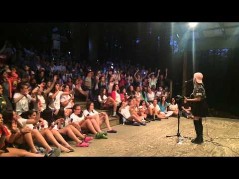"""Sarah Barrios Covering """"Riptide"""" by Vance Joy at Camp Timber Top in PA"""