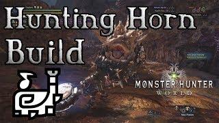 Monster Hunter World - Hunting Horn Build: Boop & Doot